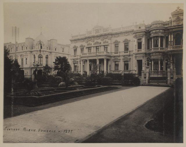 Palacio Edwards, Santiago
