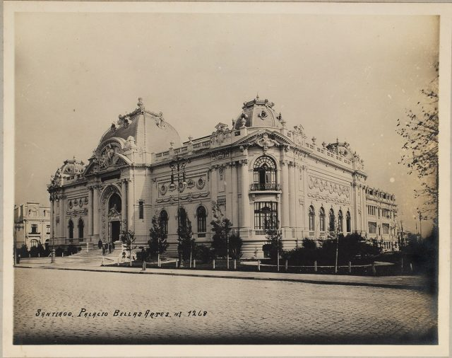 Palacio Bellas Artes, Santiago