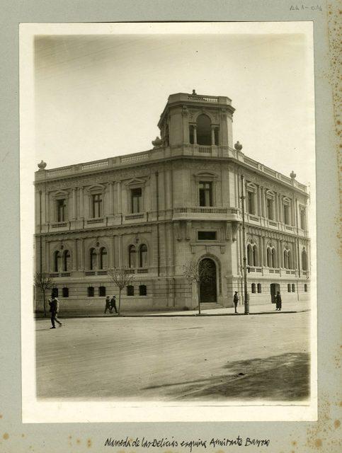 Alameda esquina Almirante Barroso