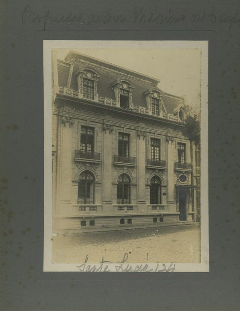 Casa de Máximo del Campo, Santa Lucía 124