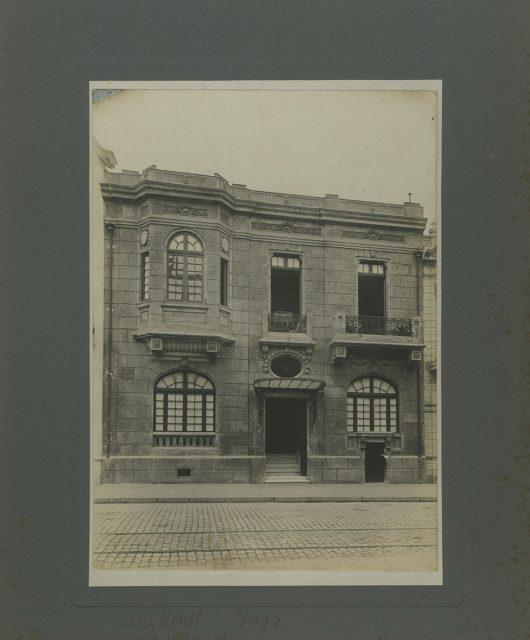 Fachada, Calle Morandé 1842