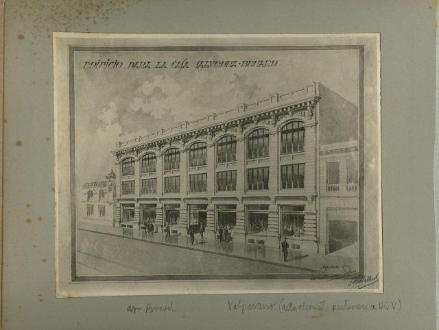 Edificio para la Casa Saavedra Benard, Avenida Brasil