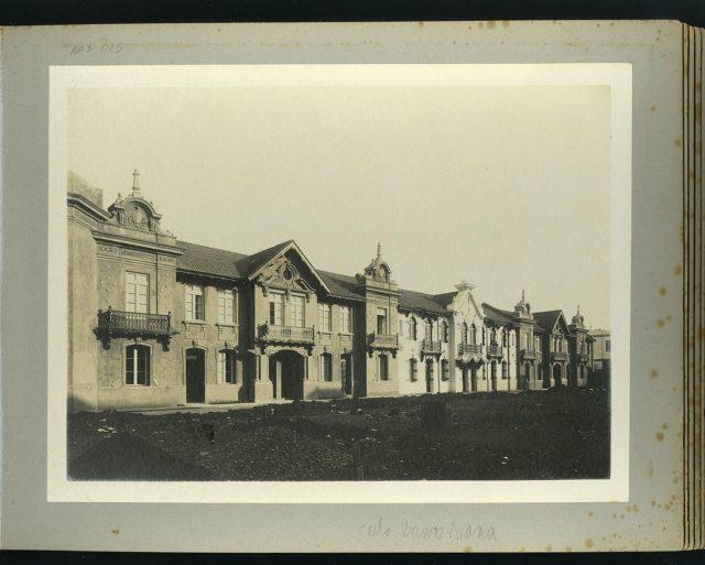 Fachadas, calle Barros Arana