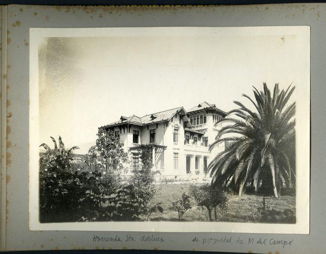Hacienda Santa Adelina, de Máximo del Campo