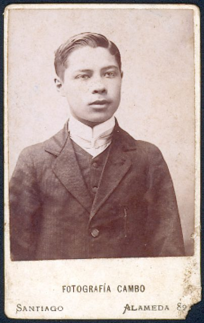 Retrato de Humberto de la Barra