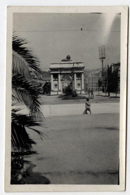 Arco de la ciudad de Valparaíso