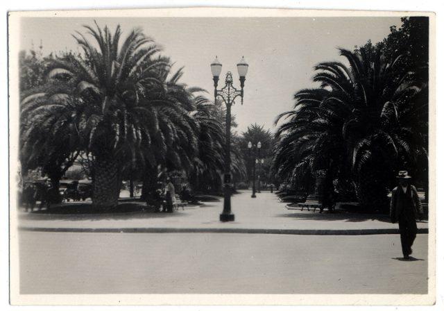 Vista de la Plaza Brasil, Valparaíso