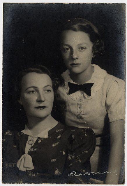Retrato de madre con hija