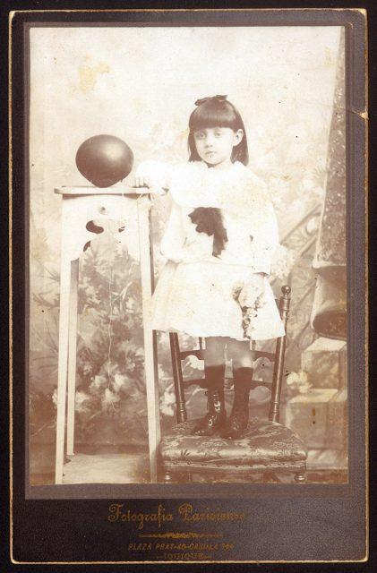 Retrato de Lidia B. Torres G.