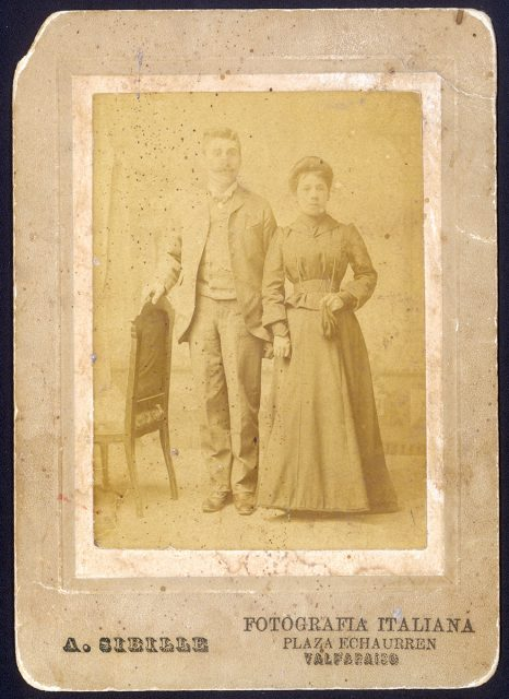 Retrato del matrimonio Moraga