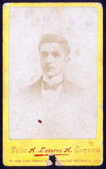 Retrato de Alejandro Catalán.