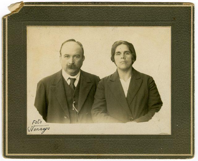 Retrato de pareja.