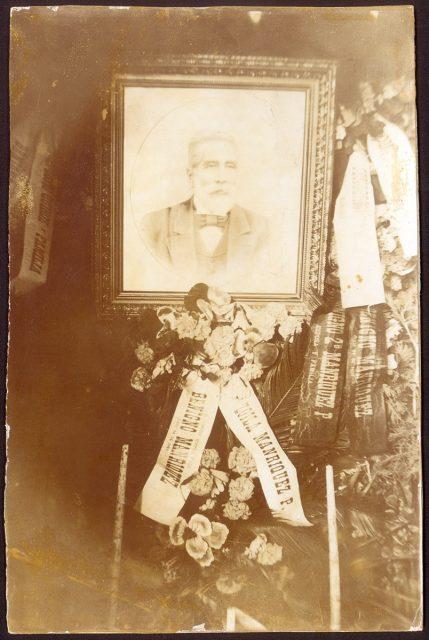 Funeral de Benigno Manríquez P.