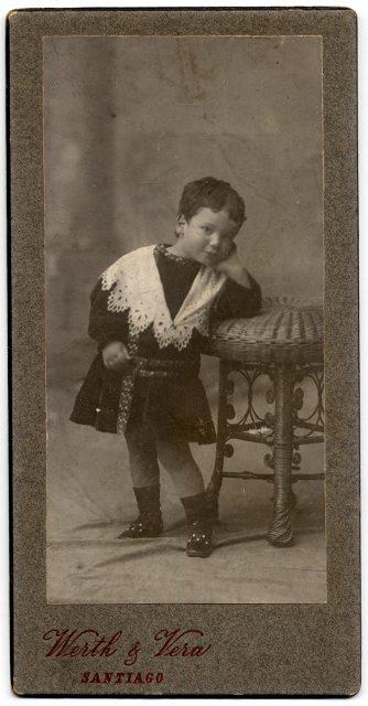 Retrato de Fernando Bravo E.