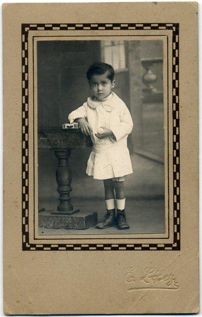 Retrato de niño.