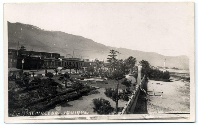 Av. Balmaceda, Iquique.