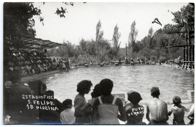 Estadio fiscal de San Felipe, 1º piscina