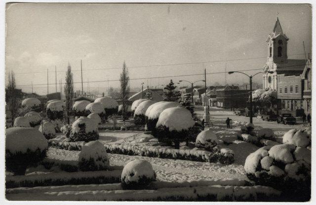 Plaza Prat, Puerto Natales