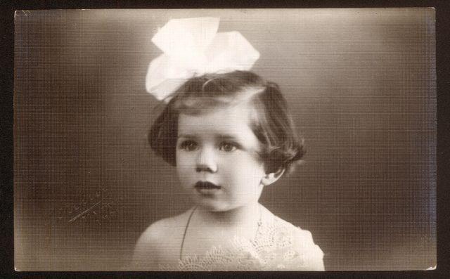 Retrato de niña.