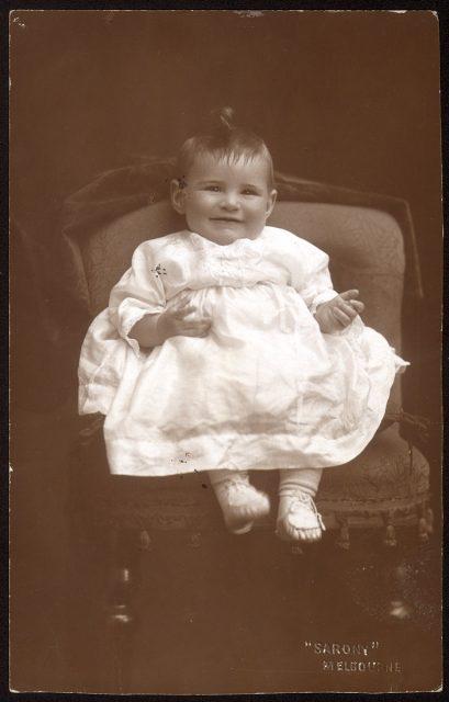 Retrato de una bebé