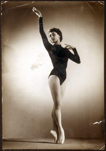 Geneviève Kergrist, bailarina de la Opera de Paris