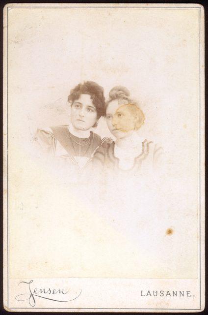 Retrato de dos mujeres