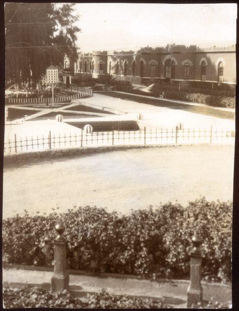 Vista de una plaza.
