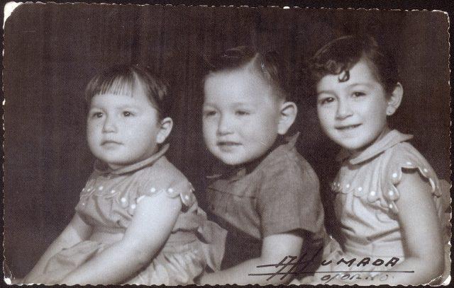 Retrato grupo de niños