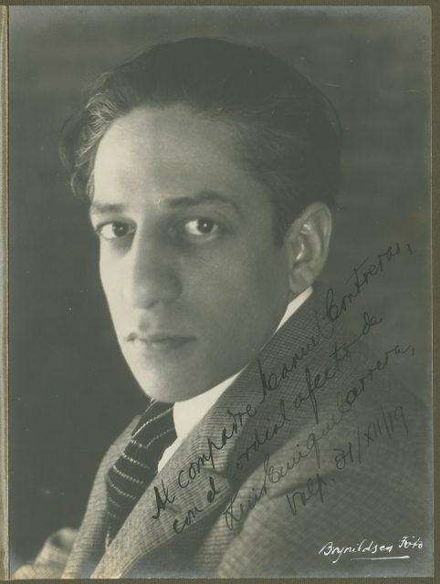 Retrato de Luis Enrique Carrera