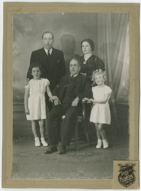 Retrato de una familia.