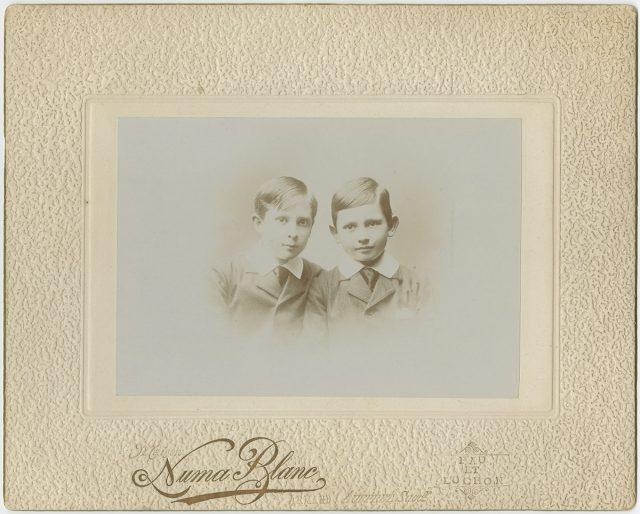 Retrato de Roger y Maurice