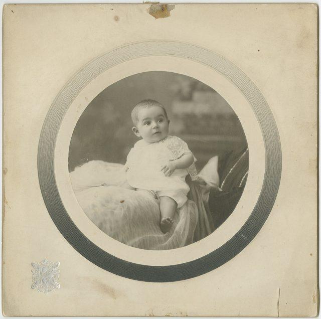 Retrato de una bebé.