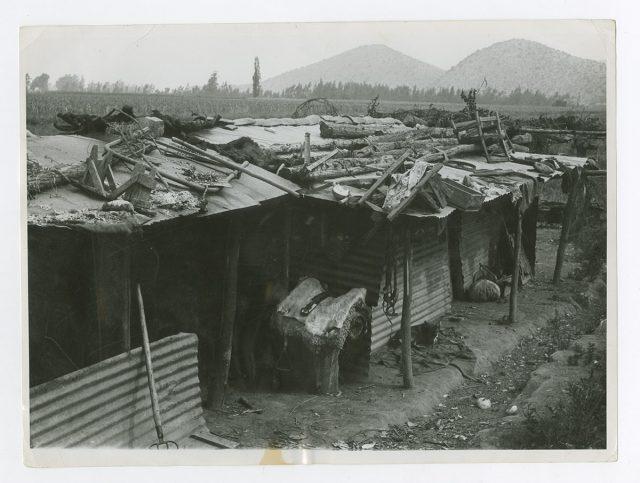 Vista del fundo El Carmen de Maipú