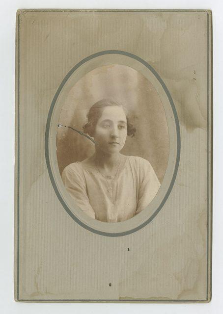 Retrato de María Lamas de Rojas