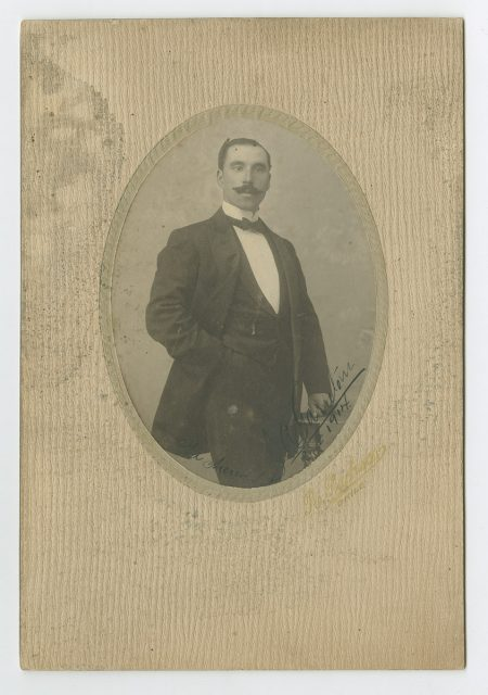Retrato de G.A. Garretón