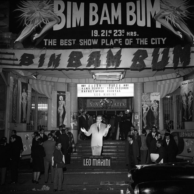 Frontis teatro Ópera con espectáculo de Revista del Bim Bam Bum