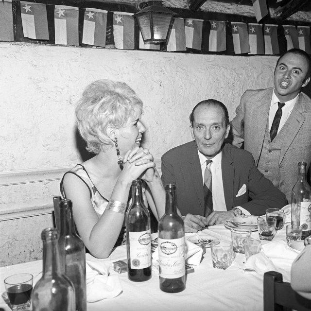 Cumpleaños de Eduardo Félix Peña en el restaurante Pollo Dorado