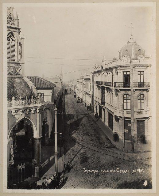 Calle del Carmen, Santiago
