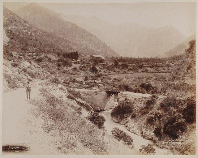 Cajón del Río Colón, San José de Maipo