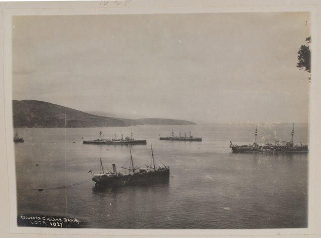 Escuadra Chilena, bahía Lota