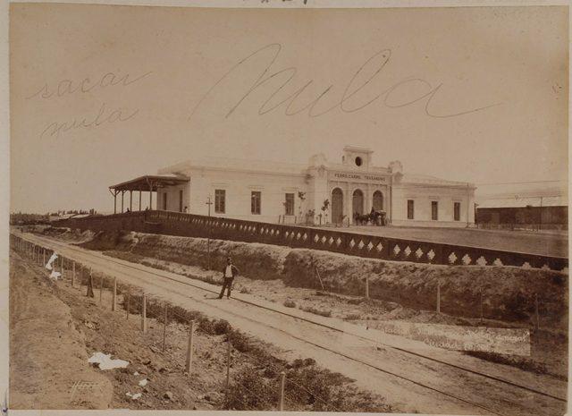 Estación de Mendoza, Ferrocarril Trasandino