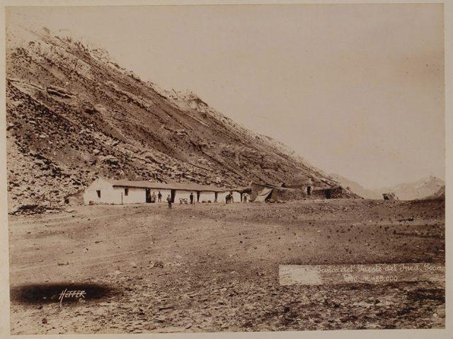 Baños del Puente del Inca