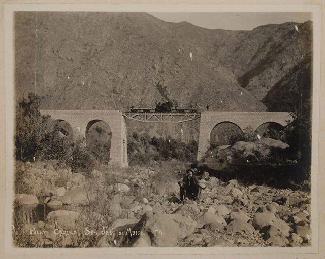 Puente camino San José de Maipo