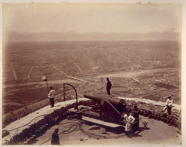 Panorámica de Lima desde un Cerro