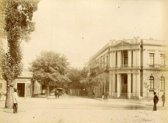Palacio Ossa, Santiago