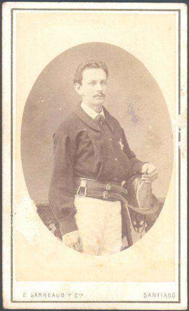 Retrato del bombero Carlos Varas Herrera