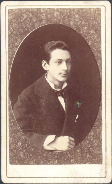Retrato de un joven hombre