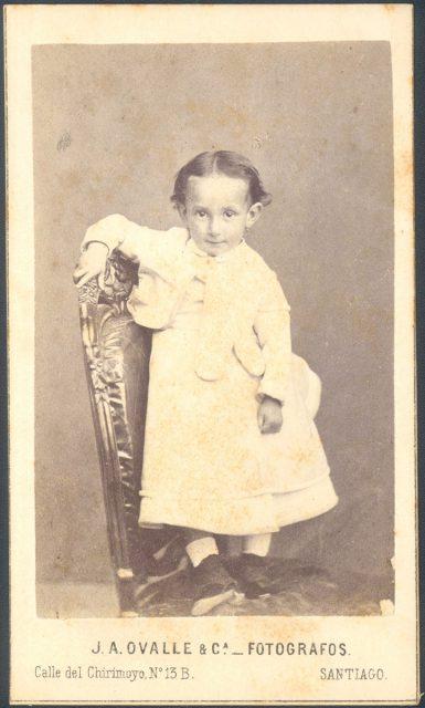 Retrato de un niña.