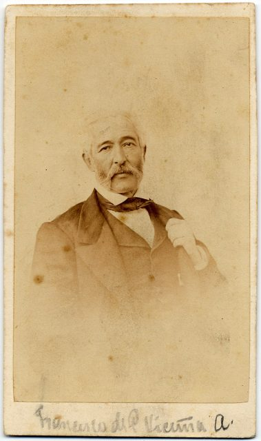 Retrato de Francisco de Paula Vicuña A.