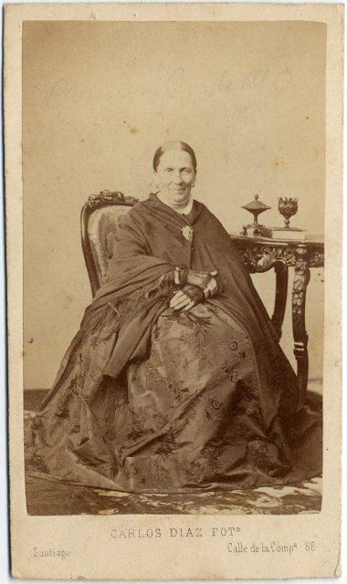 Retrato de Carmen Cerda de Ossa